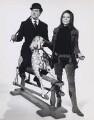 Patrick Macnee as John Steed and Diana Rigg as Emma Peel in 'The Avengers', by Frank Oglesbee - NPG x194135