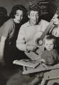Dame Siân Phillips; Peter O'Toole; Kate O'Toole, by George Konig - NPG x194157