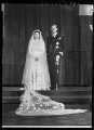 Wedding of Queen Elizabeth II and Prince Philip, Duke of Edinburgh, by Bassano Ltd - NPG x158908