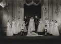 Wedding of Queen Elizabeth II and Prince Philip, Duke of Edinburgh, by Bassano Ltd - NPG x158907