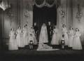 Wedding of Queen Elizabeth II and Prince Philip, Duke of Edinburgh, by Bassano Ltd - NPG x158907