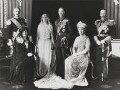 The wedding of King George VI and Queen Elizabeth, the Queen Mother, by Bassano Ltd - NPG x158918