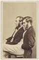 Sir Joseph Dalton Hooker; Thomas Henry Huxley, by Henry Joseph Whitlock - NPG x138802