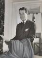 Sir Hardy Amies, by John French - NPG x194210