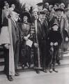 Nancy Astor, Viscountess Astor; Sir Oliver Joseph Lodge; Sir (Joseph) Austen Chamberlain, by Associated Press - NPG x194221