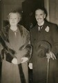 Anne Vere Chamberlain (née Cole); Neville Chamberlain, by Keystone Press Agency Ltd - NPG x194245