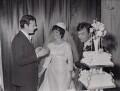 Brian Epstein; Pauline Marsden (née Behan); Gerry Marsden, by Unknown photographer - NPG x194262