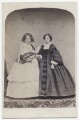 Princess Victoria, Duchess of Kent and Strathearn; Princess Alice, Grand Duchess of Hesse, by Messrs Day - NPG x197208