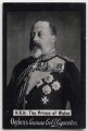 King Edward VII, possibly by John Lemmon Russell, published by  Ogden's - NPG x197219