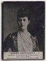 Queen Alexandra, by Lafayette (Lafayette Ltd), published by  Ogden's - NPG x197220