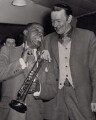 Louis ('Satchmo') Armstrong; Humphrey Lyttelton, by Planet News - NPG x194288