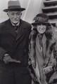 John Masefield; Constance Masefield (née la Cherois-Crommelin), by Associated Press - NPG x194293