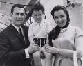Harold Pinter; Daniel Pinter; Vivien Merchant, by Associated Press - NPG x194308