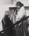 John Richard Schlesinger; Terence Stamp; Julie Christie, by Unknown photographer - NPG x194319