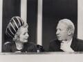 Margaret Thatcher; Sir Edward Heath, by Central Press - NPG x194330