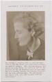Amabel Williams-Ellis, by Edith Tudor-Hart - NPG x194334
