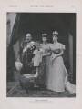 King Edward VII; Victoria ('Ena'), Queen of Spain; Princess Maud, Queen of Norway; Queen Alexandra, by Gunn & Stuart - NPG x193302