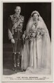'The Royal Wedding' (Prince Henry, Duke of Gloucester; Princess Alice, Duchess of Gloucester), by Vandyk, published by  J. Beagles & Co - NPG x197272