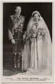 'The Royal Wedding' (Prince Henry, Duke of Gloucester; Princess Alice, Duchess of Gloucester), by Vandyk, published by  J. Beagles & Co - NPG x197272