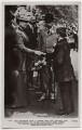 'Our Beloved King & Queen and the Cripple Lad' (including Queen Mary and King George V), by Unknown photographer, for  Daily Mirror, published by  J. Beagles & Co - NPG x197276