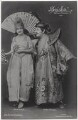 Dora Hrach and Anton Franck in 'Geisha', by Zander & Labisch, published by  Photochemie - NPG x138905