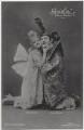 Dora Hrach and Anton Franck in 'Geisha', by Zander & Labisch, published by  Photochemie - NPG x138906