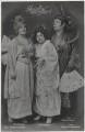 Dora Hrach; Mia Werber and Anton Franck in 'Geisha', by Zander & Labisch, published by  Photochemie - NPG x138907