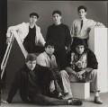 'Young Actors' (Benedict Taylor, Ian Sears, Daniel Peacock, Paul McGann, Michael Praed and John Gordon-Sinclair), by Trevor Leighton - NPG x139555