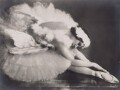 Anna Pavlova in 'The Dying Swan', by Frans van Riel - NPG x139574