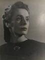 Ninette de Valois, by Gordon Anthony - NPG x194343