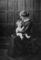 Probably Diana Churchill; Clementine (née Hozier), Baroness Spencer-Churchill, copy by Walter Stoneman - NPG x190220