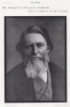 John Ruskin, by Elliott & Fry - NPG x197407