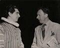 Sir Geraint Llewellyn Evans; Benjamin Britten, by Keystone Press Agency Ltd - NPG x139669