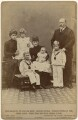 King Edward VII and Queen Alexandra with the children of King George V, by Frederick William Ralph, published by  London Stereoscopic & Photographic Company - NPG x197447