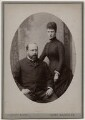 King Edward VII; Queen Alexandra, by Carl Backofen - NPG Ax197508