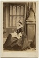Frances Elizabeth Jocelyn (née Cowper), Viscountess Jocelyn, by Camille Silvy - NPG x197529
