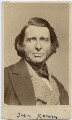 John Ruskin, by Elliott & Fry - NPG x197547