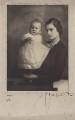 Douglas Andrew Montagu Douglas Scott; Lady Victoria Doris Rachel Haig, by Madame Morter - NPG x182251