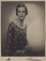 Lady Victoria Doris Rachel Haig, by Lenare - NPG x182252