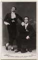 Alfred Lester and George Robey in 'The Bing Boys Are Here', by Wrather & Buys, published by  J. Beagles & Co - NPG x139752