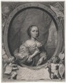 Anna Maria van Schurman, by Cornelis van Dalen the Younger, published by  Clemendt de Jonghe, after  Cornelius Johnson - NPG D43046