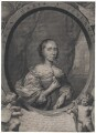 Anna Maria van Schurman, by Cornelis van Dalen the Younger, after  Cornelius Johnson - NPG D43047