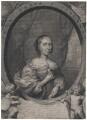 Anna Maria van Schurman, by Cornelis van Dalen the Younger, after  Cornelius Johnson - NPG D43047
