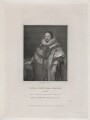 Thomas Coventry, 1st Baron Coventry, by J. Parker, published by  Harding, Triphook & Lepard, after  Cornelius Johnson - NPG D43049