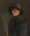 Mark Gertler ('Self Portrait with Fishing Cap'), by Mark Gertler - NPG 6990