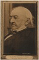 William Ewart Gladstone, by George Watmough Webster, published by  Hugo Lang & Co - NPG x197774