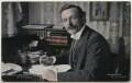 David Lloyd George, by Ernest Herbert ('E.H.') Mills, published by  R. Llewellyn Jones - NPG x197807