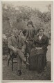 David Lloyd George; Lady Megan Arfon Lloyd George; Dame Margaret Lloyd George (née Owen), by Unknown photographer - NPG x197816