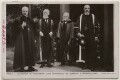 'Archbishop of Canterbury, Lord Strathcona, Mr. Carnegie, & Principal Lang', by Ernest Herbert ('E.H.') Mills, published by  Rotary Photographic Co Ltd - NPG x197874
