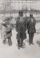 Arthur James Balfour, 1st Earl of Balfour; Sir Cecil Arthur Spring-Rice, by Bain News Service - NPG x197888
